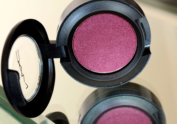 MAC Nudes & Metallics: Crimson Tryst Eye Shadow