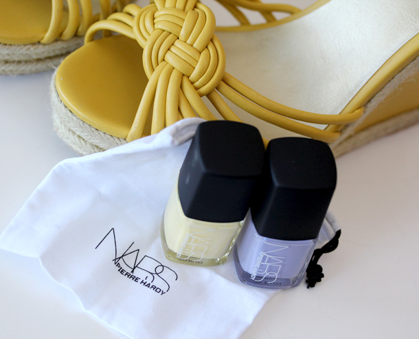 NARS Pierre Hardy Sharks Nail Polish Duo bag