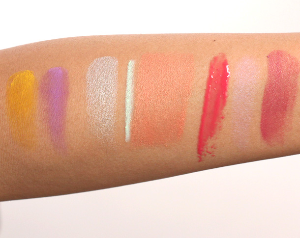 NARS Summer 2013 Swatches