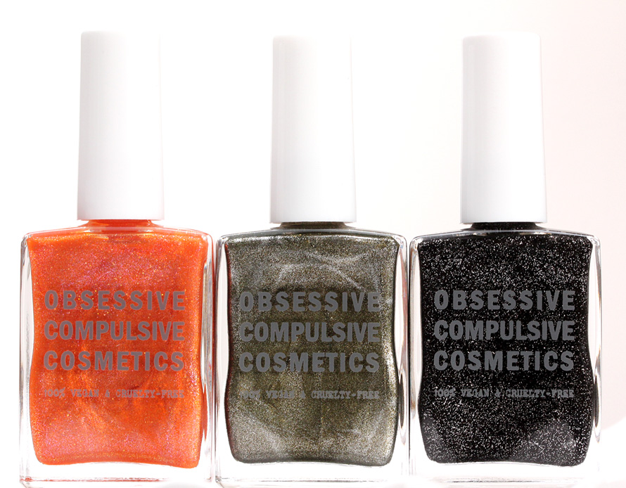 Obsessive Compulsive Cosmetics Sci-Fi Lullabies nail polish in Leelo, Ripley and Batty big
