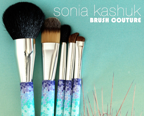Sonia Kashuk Brush Couture Five-Piece Brush Set