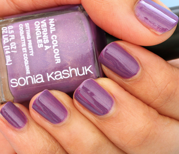 Sonia Kashuk Sitting Pretty Nail Colour Swatch