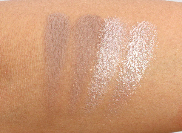 Sonia Kashuk Textured Taupe Swatches