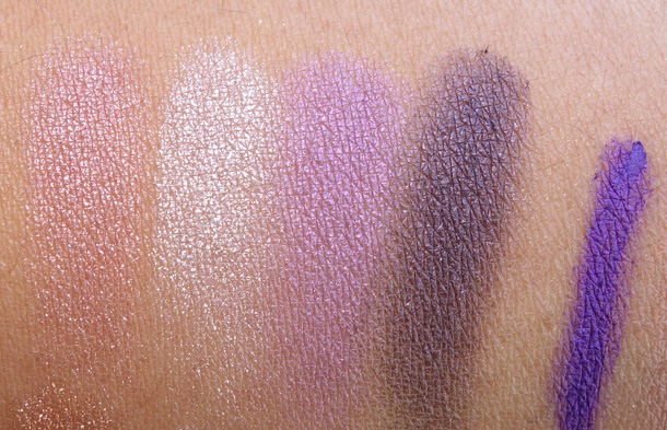YSL Summer 2013 Swatches: Pure Chromatics Quad No 13