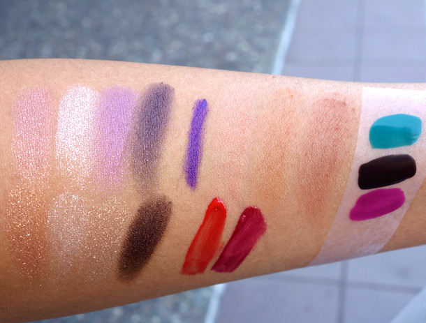 YSL Summer 2013 Swatches