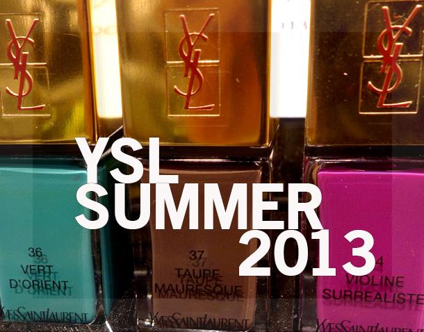 YSL Summer 2013