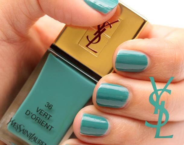 Yves Saint Laurent Vert D'Orient Nail Polish