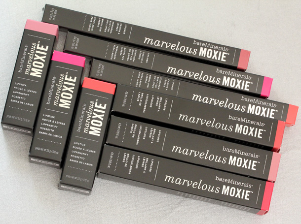 bareMinerals Marvelous Moxie Lipliners, Lipsticks and Lipglosses