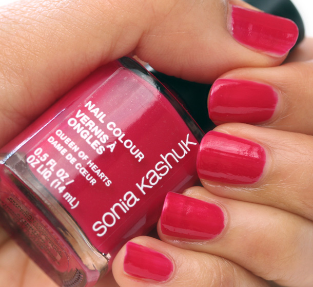 Sonia Kashuk Queen of Hearts Nail Colour Swatch
