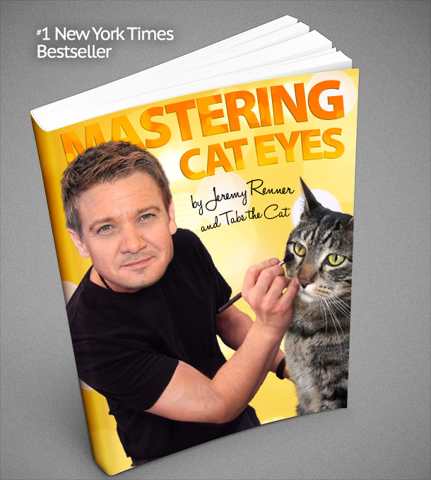 Mastering Cat Eyes, by Jeremy Renner and Tabs the Cat