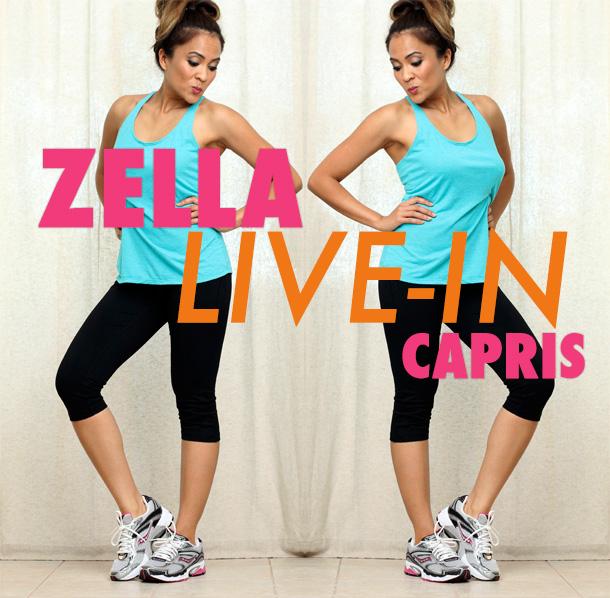 Zella Live-In Capris