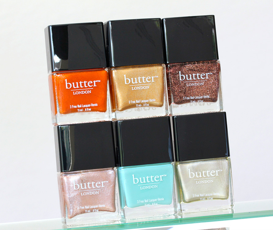 Butter London Summer Holiday 2013 Lacquer Collection