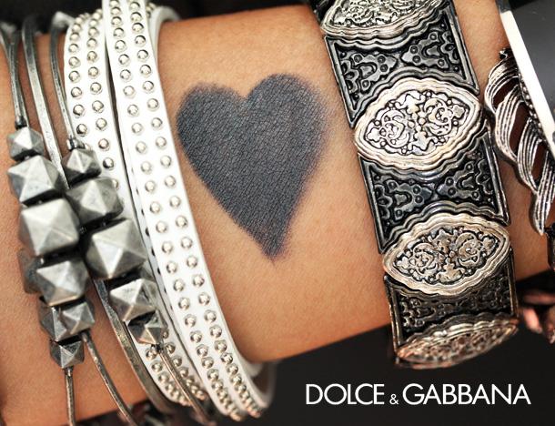 Dolce & Gabbana Graphite Swatch