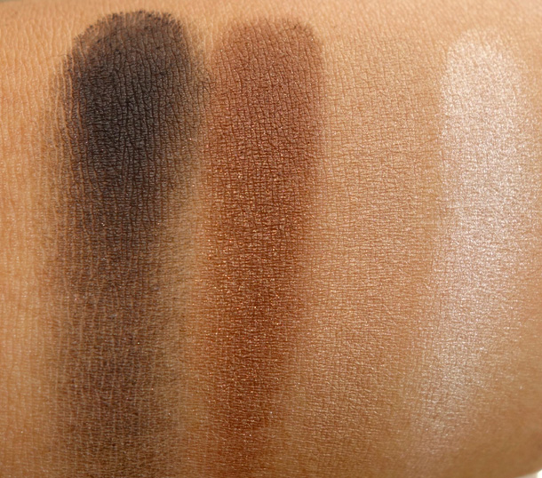 Dolce & Gabbana Smoky Smooth Eye Colour Quad Swatches