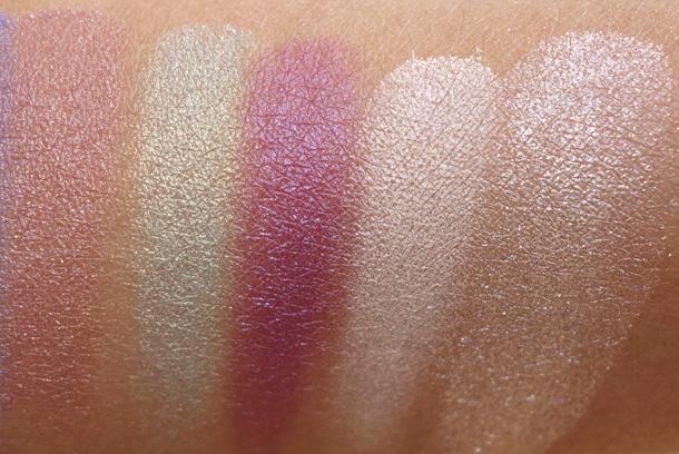 LORAC GLOgetter Eyeshadow Palette swatches