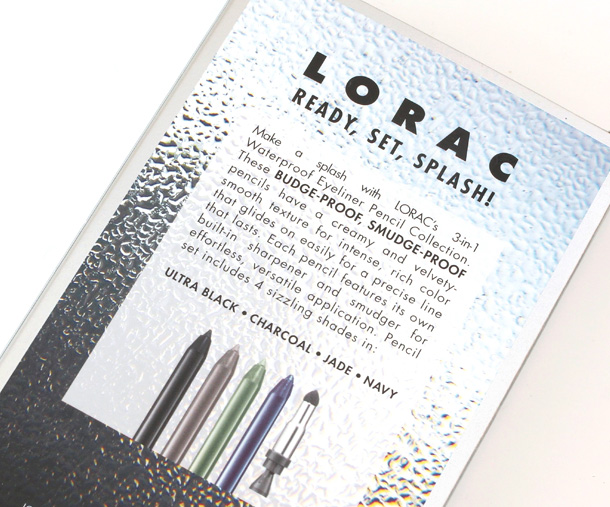 LORAC Ready Set Splash box
