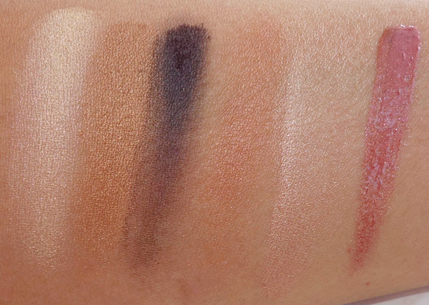 LORAC TANtalizer Glow to Go Collection swatches