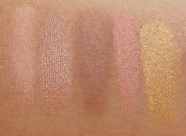 Smashbox Heat Wave Eye Shadow Palette swatches