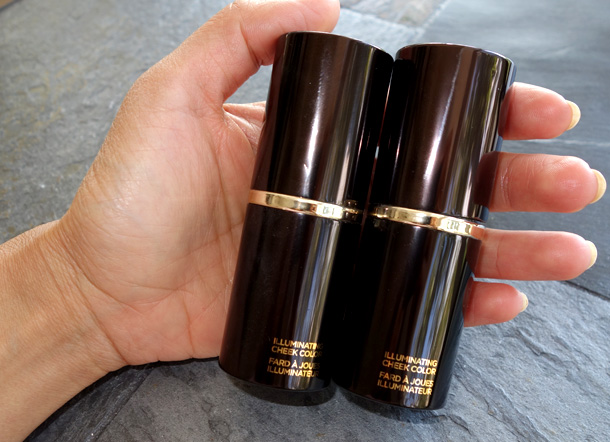 Tom Ford Beauty Illuminating Cheek Color in hand