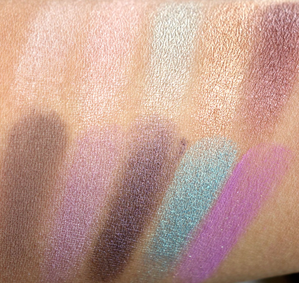 Too Faced Loves Sephora 15 Years of Beauty Palette Swatches 1