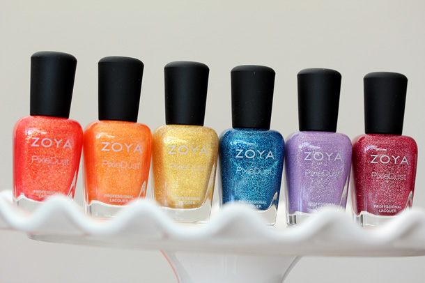 Zoya Pixie Dust Summer 2013 Collection
