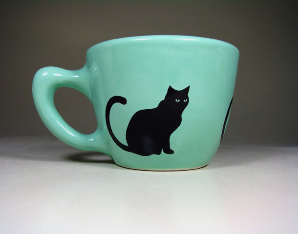 CircaCeramics Cat Mug