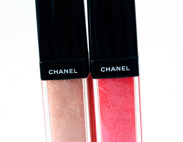 Chanel Les Delices de Chanel Collection Aqualumieres in 83 French Toffee and 82 Friandise