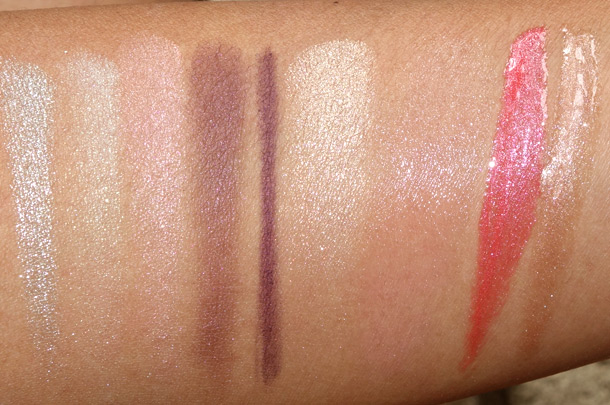 Chanel Les Delices De Chanel Collection Swatches