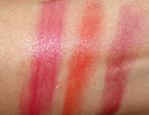 Clarins Instant Smooth Crystal Lip Balm Swatches