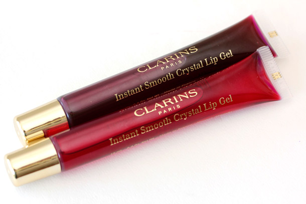 Clarins Instant Smooth Crystal Lip Gel Crystal Plum Pink