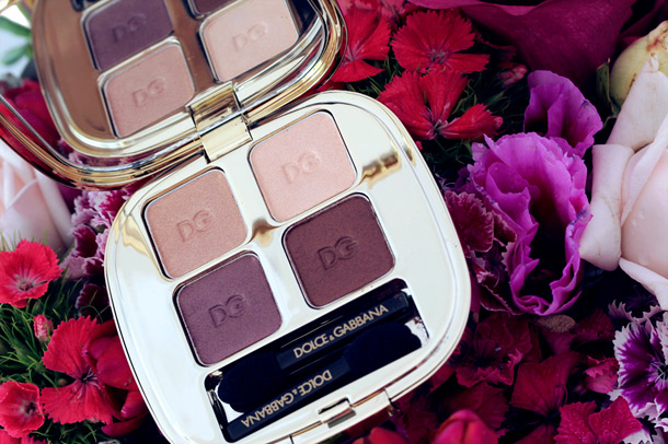 Dolce & Gabbana Contrasts Eyeshadow Quad 2
