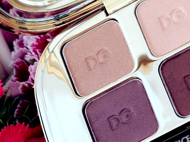 Dolce & Gabbana Contrasts Eyeshadow Quad 3