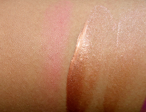 MAC Hibiscus Kiss Lustre Drops Swatch