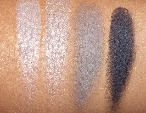 MAC Rainy Season Eye Shadow X 4 Swatches