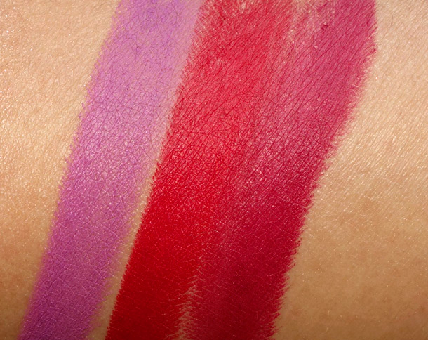 MAC Riri Boy Riri Woo Heux Swatches