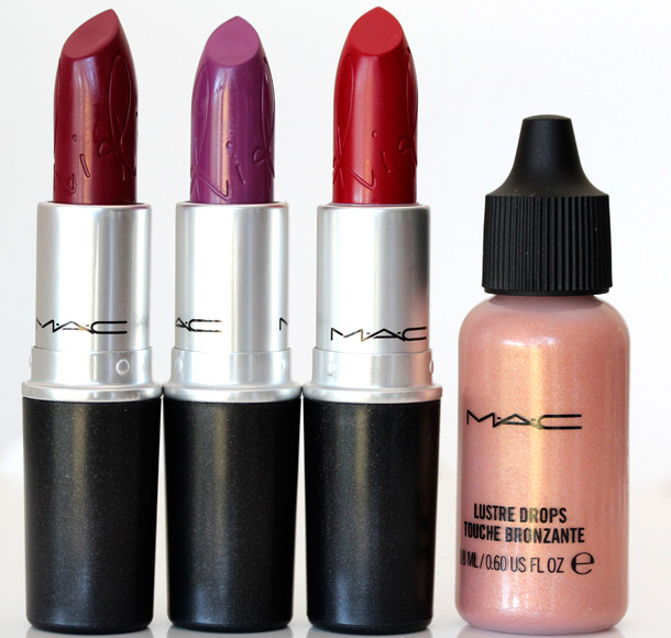 MAC Riri Hearts MAC Lipsticks Drops