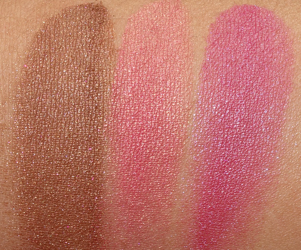 MAC Tropical Taboo Swatches Mineralize Blush
