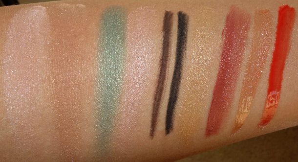 Senna Sunglow Collection Swatches
