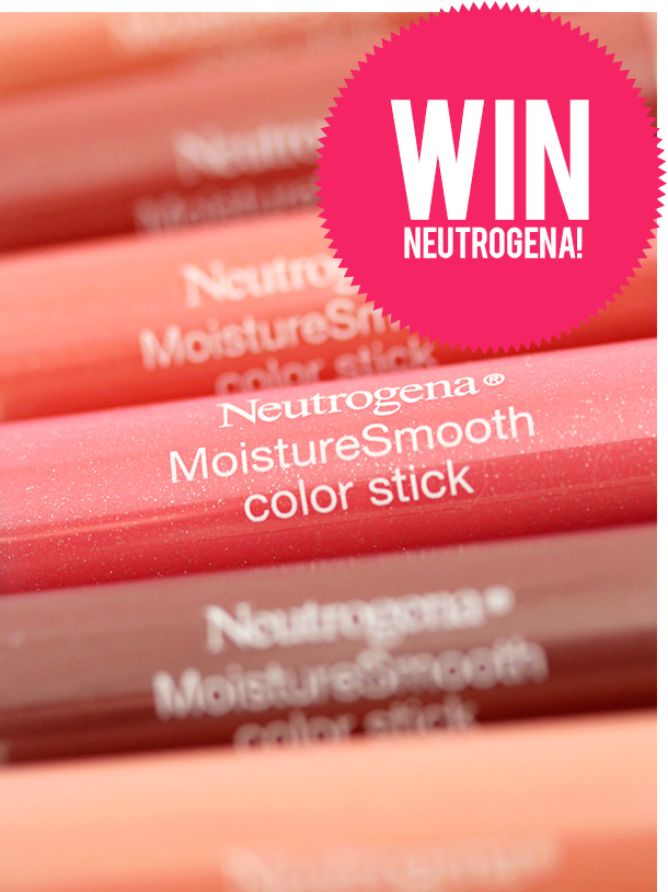 Three Ways to Win a Prize Package of Goodies From Neutrogena