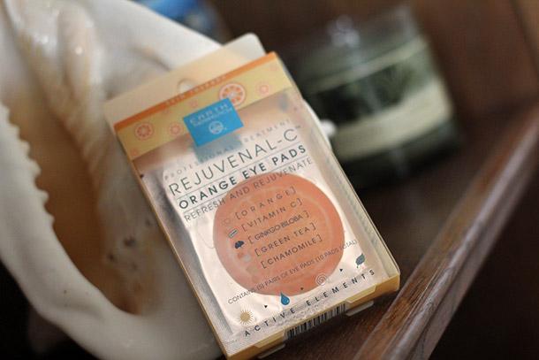 Earth Therapeutics Rejuvenal-C Orange Eye Pads