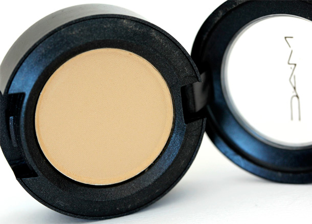 MAC Butterscotch Eye Shadow, a matte warm beige from Circa Pre collection (1990)