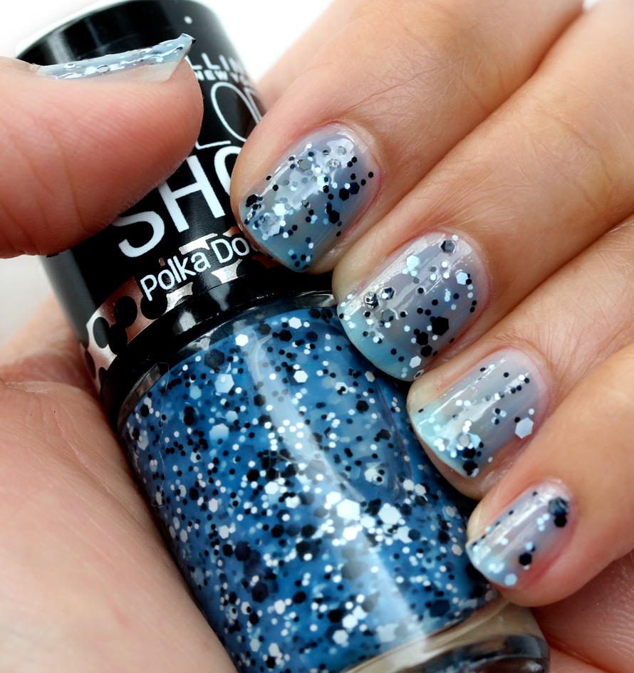 Maybelline Blue Marks the Spot Swatch