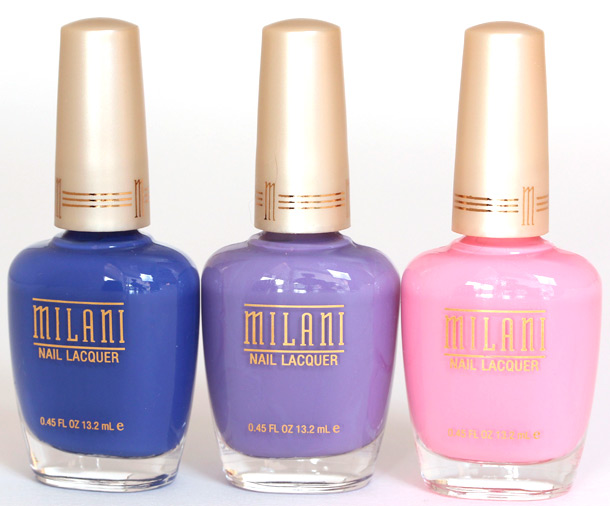Milani Blue Jay 869, Purple Martin 870 and Purple Martin 870