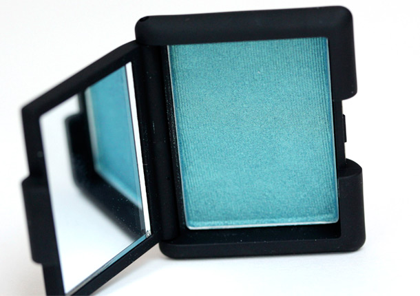 NARS Bavaria Single Eyeshadow, a deep sea blue ($24)