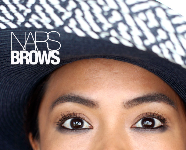 Wearing the NARS Brow Perfectors in Kalamata and Suriname; Brow Gel Kinshasha, new for fall 2013