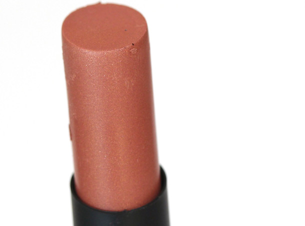 NARS Peloponnese Pure Matte Lipstick, a ginger pink ($26)