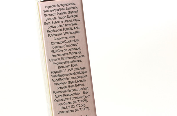 Too Faced Better Than Sex Mascara ingredients