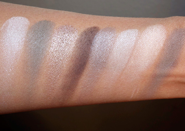 bareMinerals The Power Neutrals Ready Eyeshadow 8.0 swatches