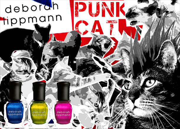 Tabs for the Deborah Lippmann Punk Cat Collection