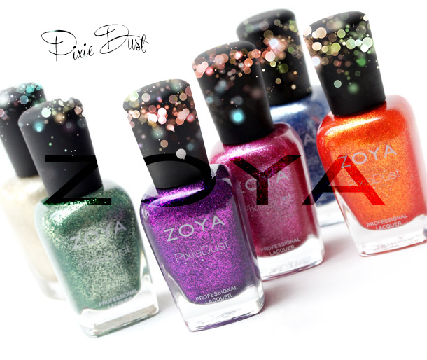 Zoya PixieDust Nail Polishes for Fall 2013